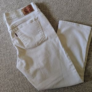 White Levi's Jeans, size 29